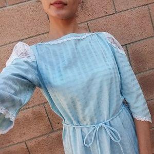 [Vintage] Lolita style lace blouse